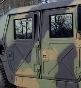 Image is loading NEW-MILITARY-HUMVEE-X-DOORS-4-HARD-DOORS- & NEW MILITARY HUMVEE X-DOORS - 4 HARD DOORS - M998 HMMWV M1038 M1025 ...
