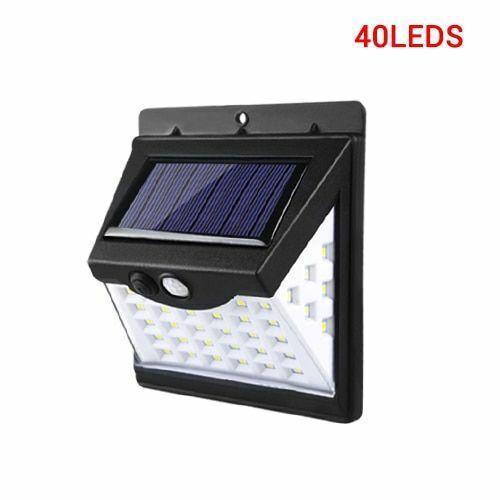 100 LED Solar Light Outdoor Lamp PIR Motion Sensor Wall Waterproof Original