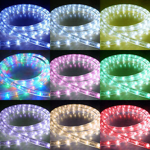 Led rope lights outdoor chasing static led strip light christmas image is loading led rope lights outdoor chasing static led strip mozeypictures Image collections