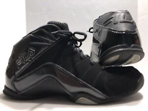 Condition Shoes Black Top Great Mid Fila High Men's Basketball In ny0vm8wONP