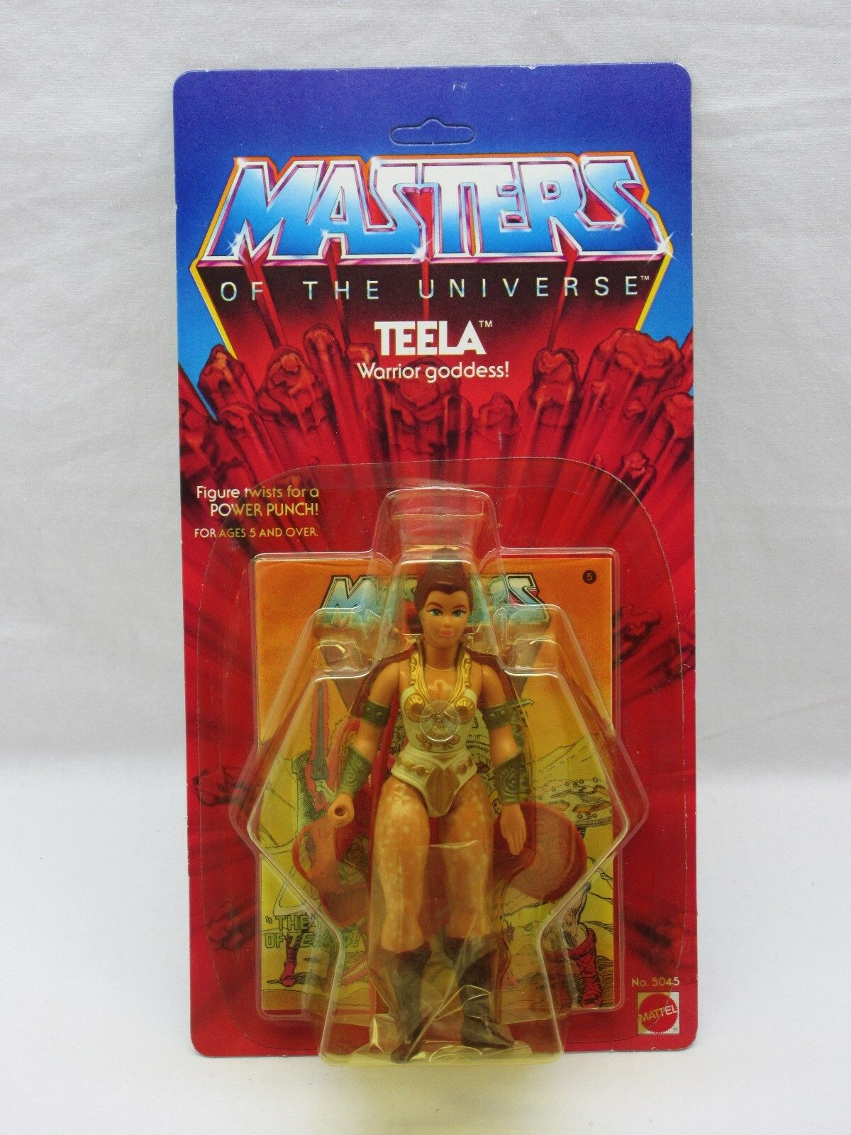 MOTU,VINTAGE,TEELA,TALE OF TEELA COMIC,Masters of the Universe,MOC,SEALED,he man