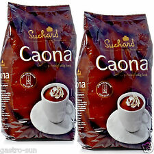 Suchard Caona Trinkschokolade 2 Jumbo Schokobeutel á 2 Kg = 4 Kg Kakao