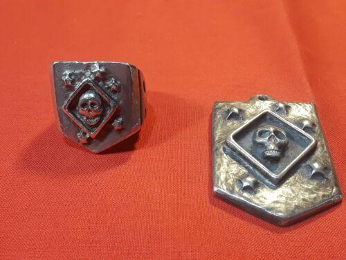 Usmc Raiders Marsoc Custom Biker Ring & Pendant/Fo