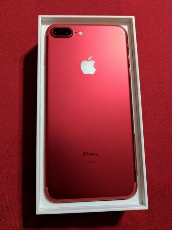 iPhone 7 Plus, 256 GB, rød