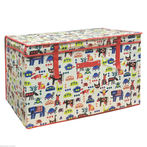 KIDS CHILDREN/'S STORAGE BOX GIRLS BOYS TOY BOOKS CLOTHES LARGE SEAT PADDED STOOL