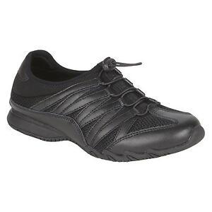 safetrax s non skid black kiersten shoes 80087 ebay