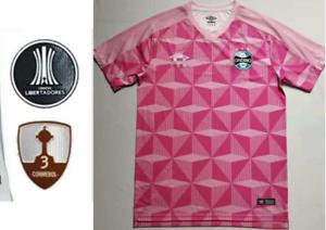 NEW 2019-2020 Gremio Home Soccer Jersey Man T Shirt S-XL armband; brassard