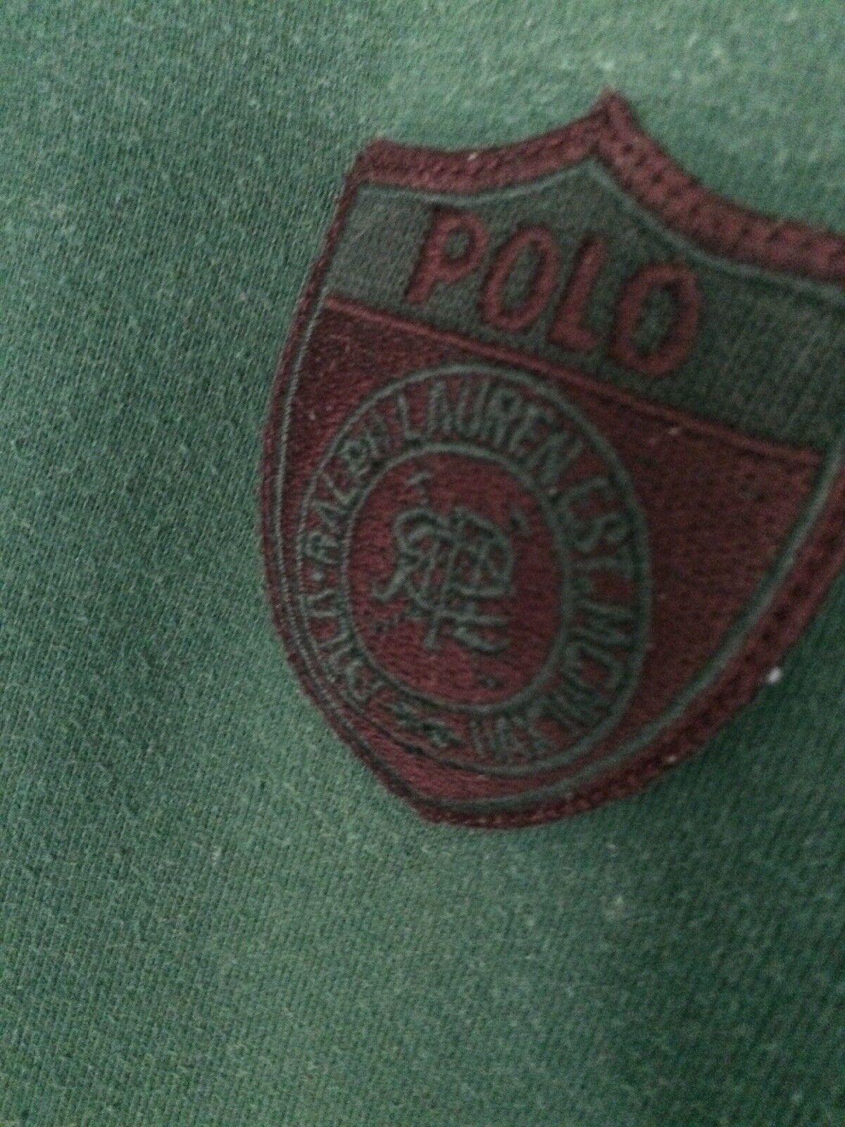 Vtg 80s 90s Polo Ralph Lauren RLPC Green Sweatshi… - image 3