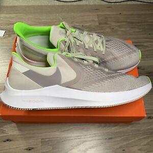 Nike Air Zoom Winflo 6 AQ7497-003 Mens Running Shoes Size 13 Desert Sand Pumice