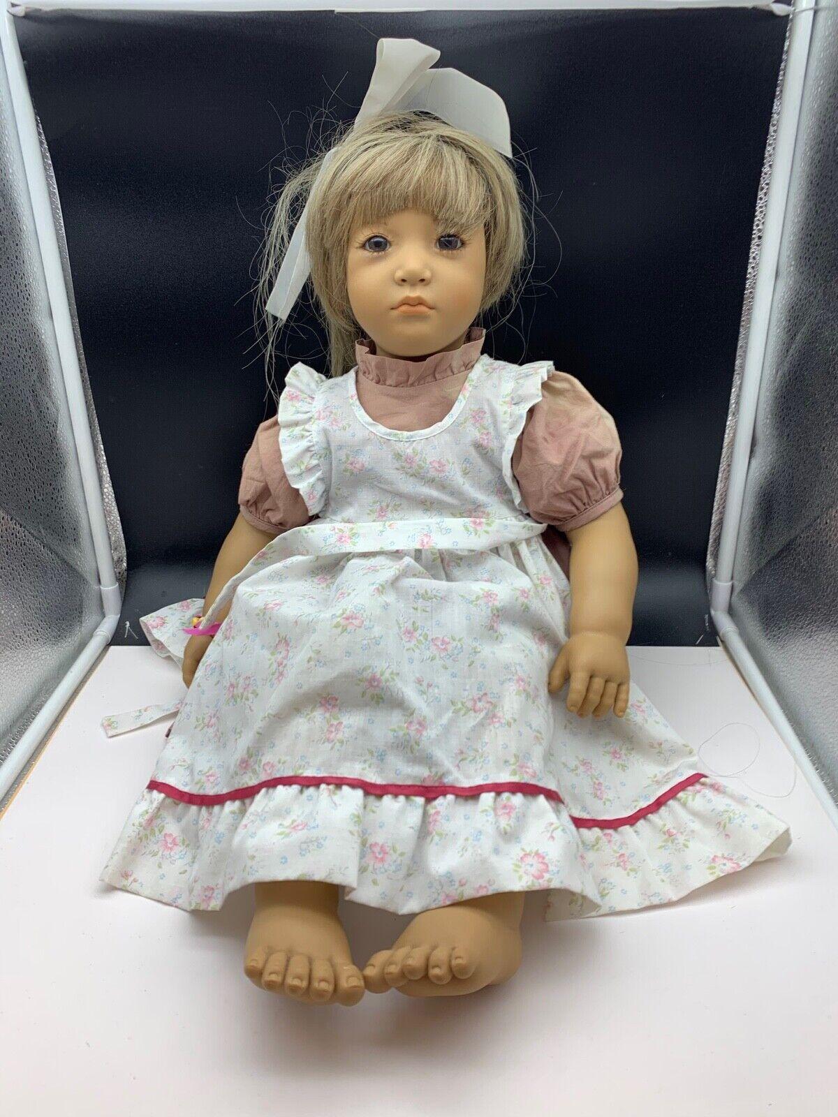 Annette Himstedt bambola Artistic bambola Neblina 65 cm Top Zuste