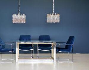 Set-of-4-Samt-Sessel-Stuehle-Velvet-Chair-von-Miller-Borgsen-Roeder-amp-Soehne