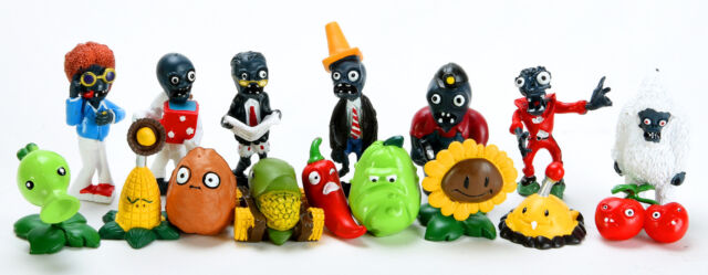 Plants vs Zombies Series Game Role Figure Display PVC Toys for Kid 16 Piece New
