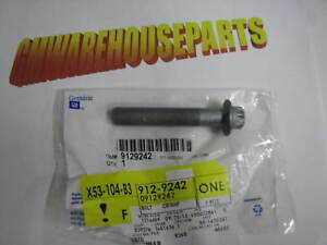 GM Engine Harmonic Balancer Bolt 9129242 Pack Of 2