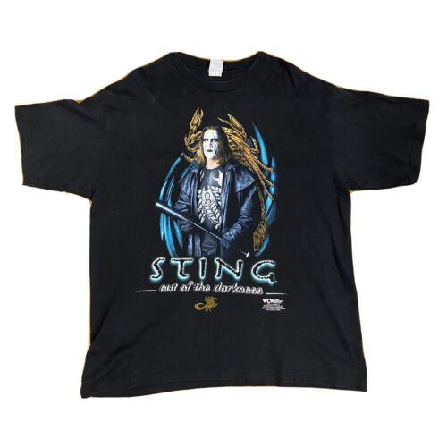 Vintage VTG WCW WWF Sting Shirt XXL