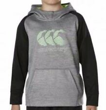 03155aa2 Canterbury Kids Vaposhield Fleece Oh Hoody - Static Marl/jet Black ...