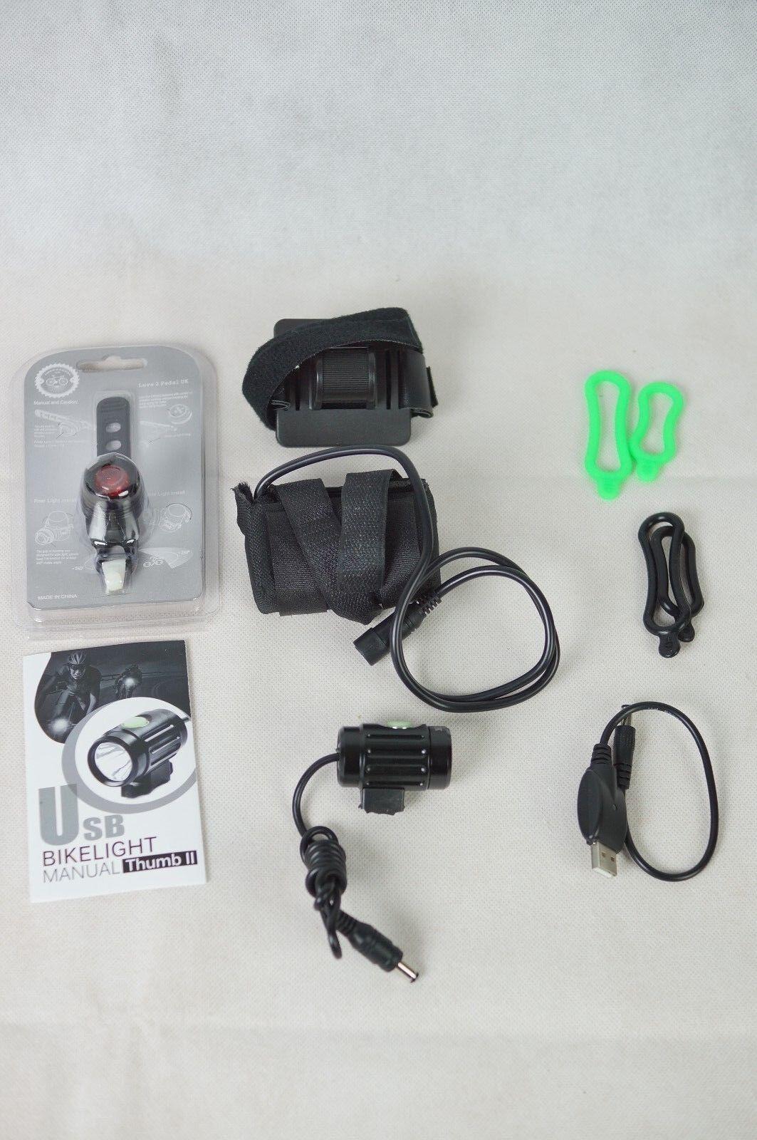 CREE XM-L2 Fahrrad Beleuchtung Set / / / EK163.0536 cc411f