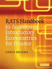 RATS Handbook to Accompany Introductory Econometrics for Finance by Chris Brooks (Paperback, 2008)