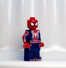 A536 Lego CUSTOM PRINTED PS4 PS 4 Game SPIDER MAN EXCLUSIVE MINIFIG Spiderman