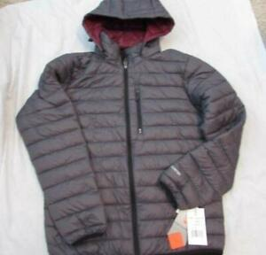 46a9a9d5b Details about FREE COUNTRY mens Med gray down poly fill lightweight puffer  jacket NEW