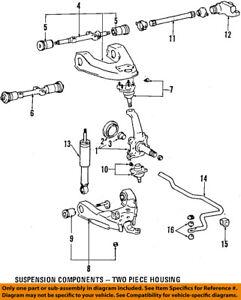 Toyota Oem 90 98 4runner Front Lower Control Arm 4806835051 Ebay