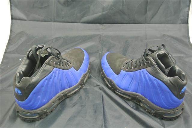 NIKE FOAMPOSITE BOOT Pointure 10.5 10.5 Pointure Chaussures Bleu/Noir Bottes édition spéciale rare cd4236