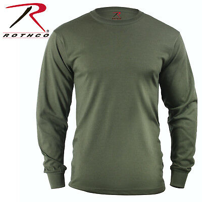 Olive Green Army Military T Shirt Tactical