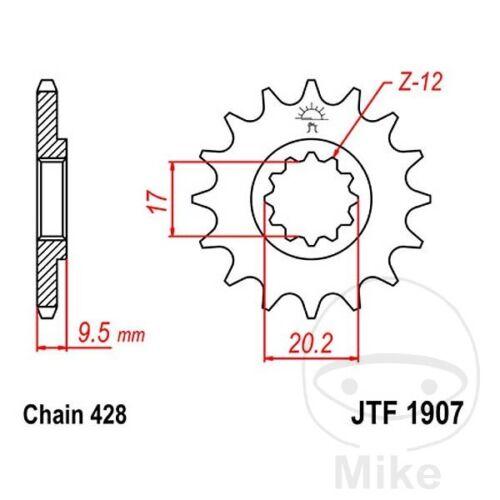 JT Front Sprocket 13T 428 Pitch JTF1907.13 KTM SX 85 2010