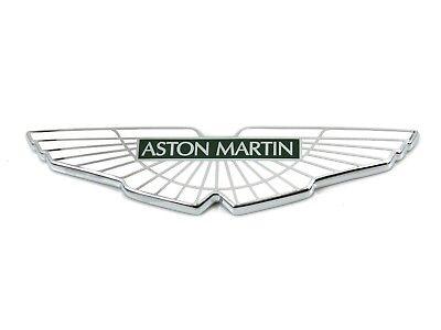 Genuine New Aston Martin Wings Bonnet Or Boot Badge Emblem Logo 4g43 407a74 Bb Ebay