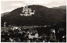 Wernigerode, Schloß von der Sennhütte aus gesehen, ca. 40er Jahre