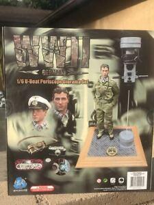 DID WWII U BOAT PERISCOPE DIORAMA SET E60058 1/6 Action Figure Toys