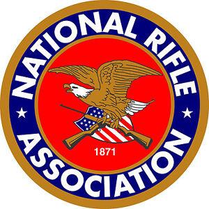 NRA-National-Rifle-Association-Vinilo-calcomania-etiqueta-5-Tallas