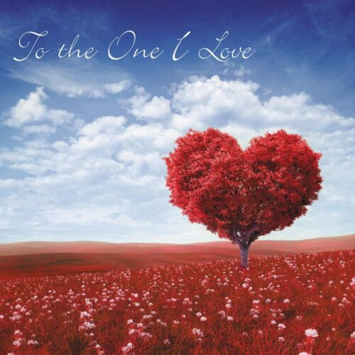 To the One I Love Valentine/'s Day Unique Card Red Tree of Love  /& Free post