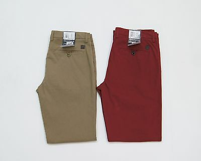 HUGO BOSS 'Crigan1-D' Stretch Regular Straight Fit Chino Pants NWT