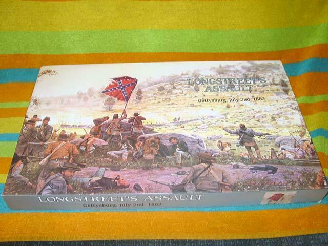 Overlord Xeno giocos - lungostreet's Assault - Gettysburg, July 2nd 1863 (rare)