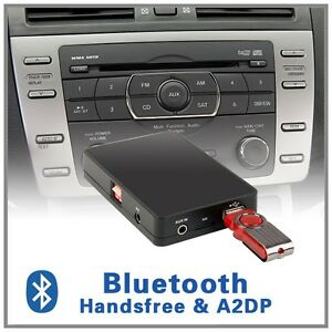 car stereo bluetooth a2dp cd changer adapter mazda 6 mpv. Black Bedroom Furniture Sets. Home Design Ideas