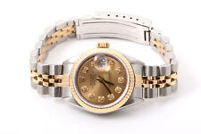 Rolex Ladies 14K/SS Datejust - Champagne Diamond Dial  - Jubilee Band