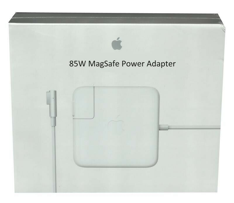 85W MagSafe 2 MacBook Charger - White -  L shape