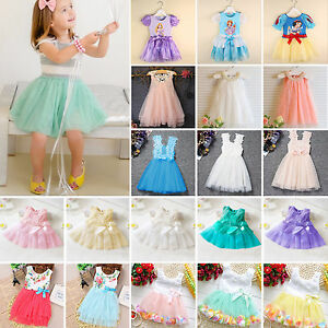 Kids-Toddler-Baby-Girls-Princess-Flower-Tulle-Dresses-Summer-birthday-Party
