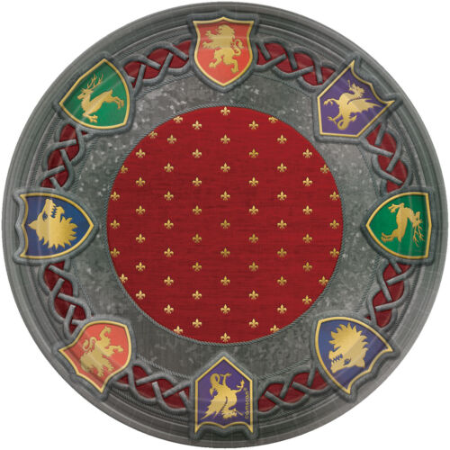 Medieval Throne Games Event Party Celebration Decorations Tableware Large Plates