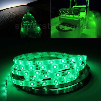 Boat Accent Light Waterproof LED Lighting Strip RV  300 LEDs SMD 2835 16 ft BLUE
