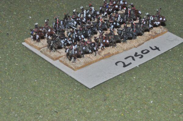10 Mm Acw/indien-guerriers De 30 Figurines-cav (27504) Qualité Et Quantité AssuréE
