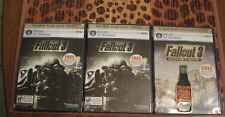 LOT OF 3 FALLOUT 3 BOTTLE OPENERS (2 REGULAR AND 1 COLLECTOR'S EDITION) PC 4 U