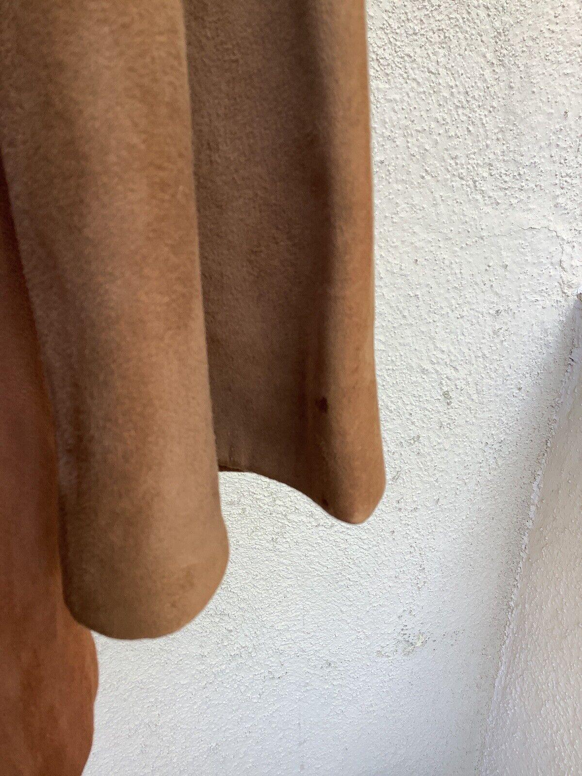 Bonnie Cashin Sills Suede Colorblock Jacket Coat … - image 11