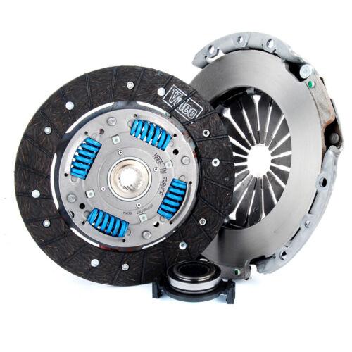 FITS PEUGEOT 306 206 106 XSARA SAXO VALEO 3 Piece Clutch Kit Diamètre 200 mm