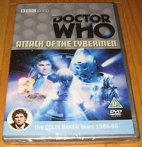 Doctor-Who-DVD-Attack-of-the-Cybermen-Excellent-Condition