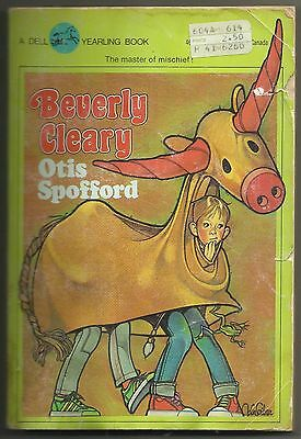 Vintage 1983 Otis Spofford Beverly Cleary Paperback Kids Book Yearling Funny