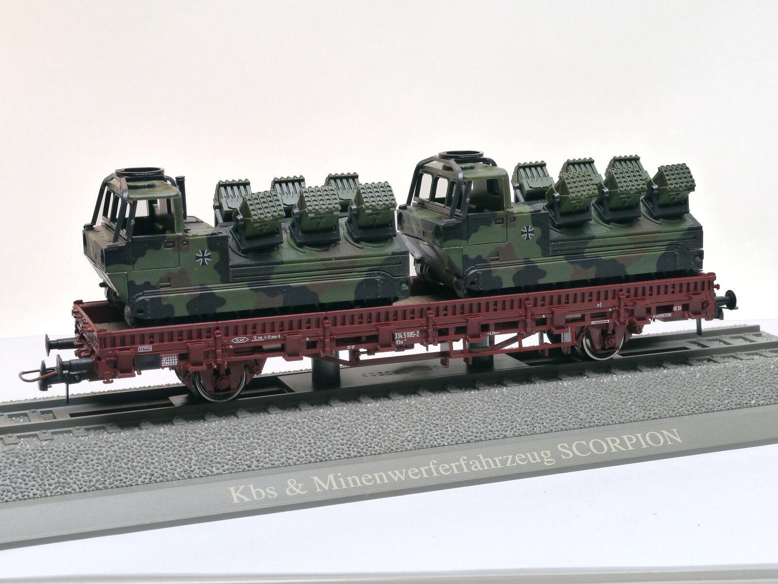 descuento de bajo precio Roco 884 KBS rungenwagen con 2 Scorpion minenwerfern Bundeswehr [G] [G] [G]  mejor calidad