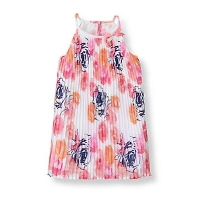 JANIE AND JACK Forever Rose Floral Peplum Top Shirt Size 6-12 Months