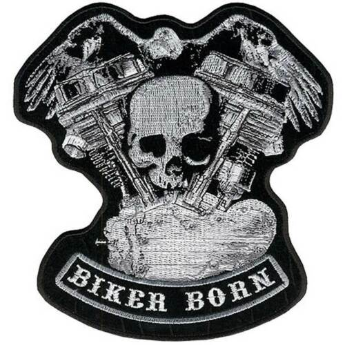 """Panhead Skull Eagle Patch 5/"""" Motorcycle  Motorbike biker colourfast  embroidered"""