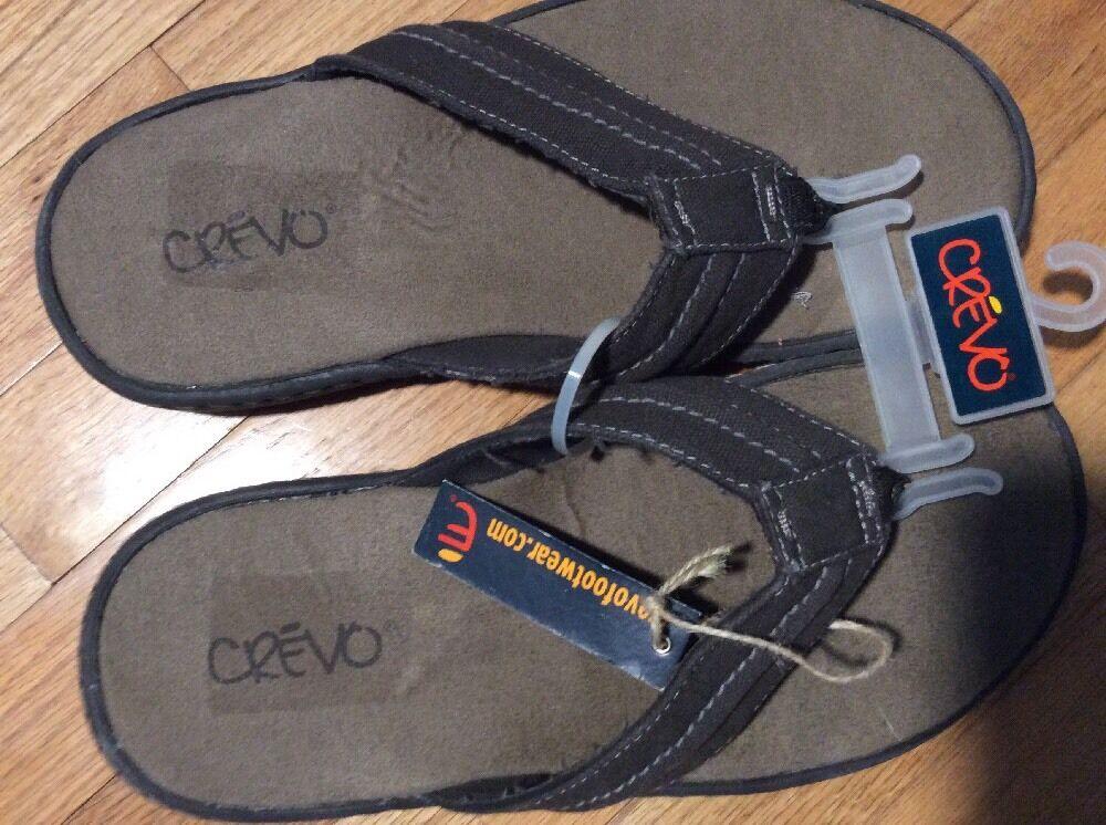 Crevo Sandal Carl Sz 9M NWT Brown
